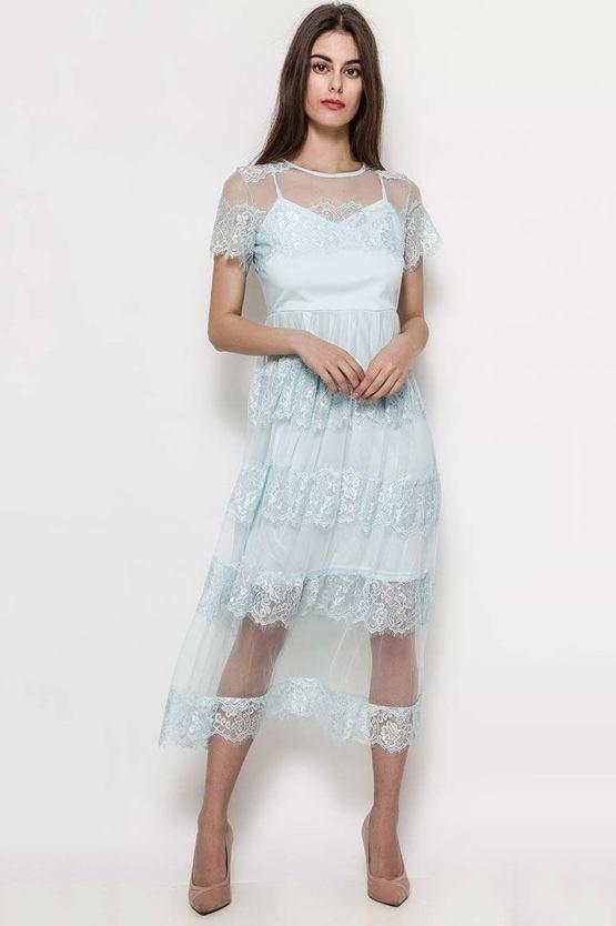 2fcc11d3565c Společenské šaty Bludička