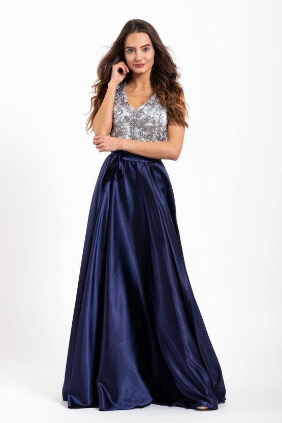 Plesové šaty Drusilla, modré
