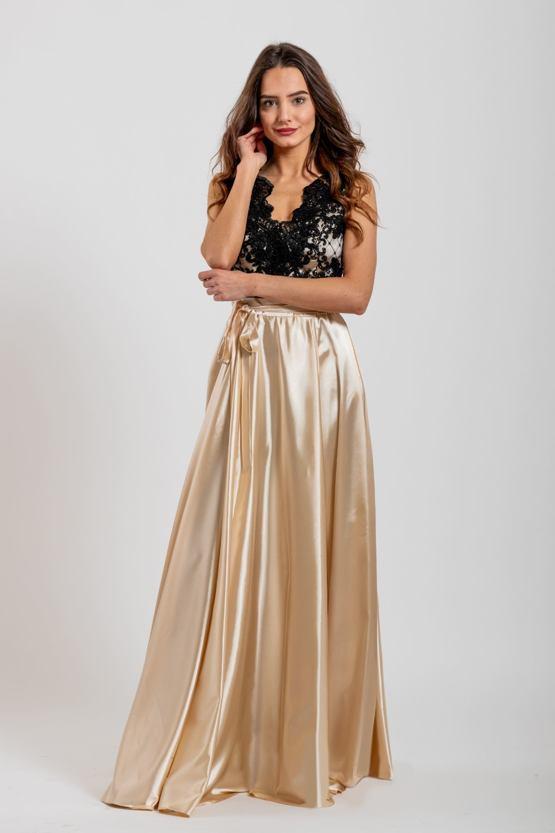 Plesové šaty Drusilla, zlaté