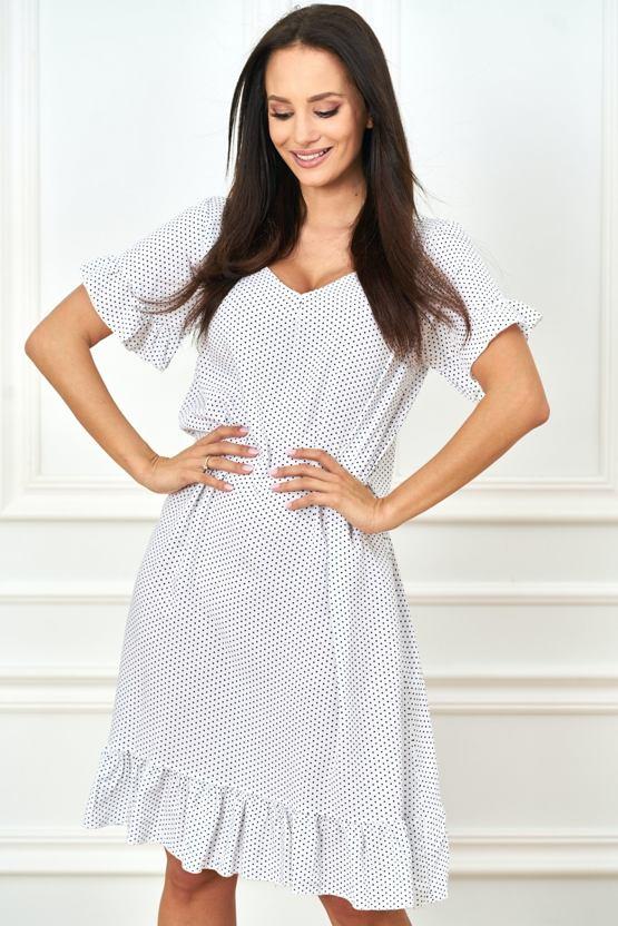 Šaty Volavka, bílé