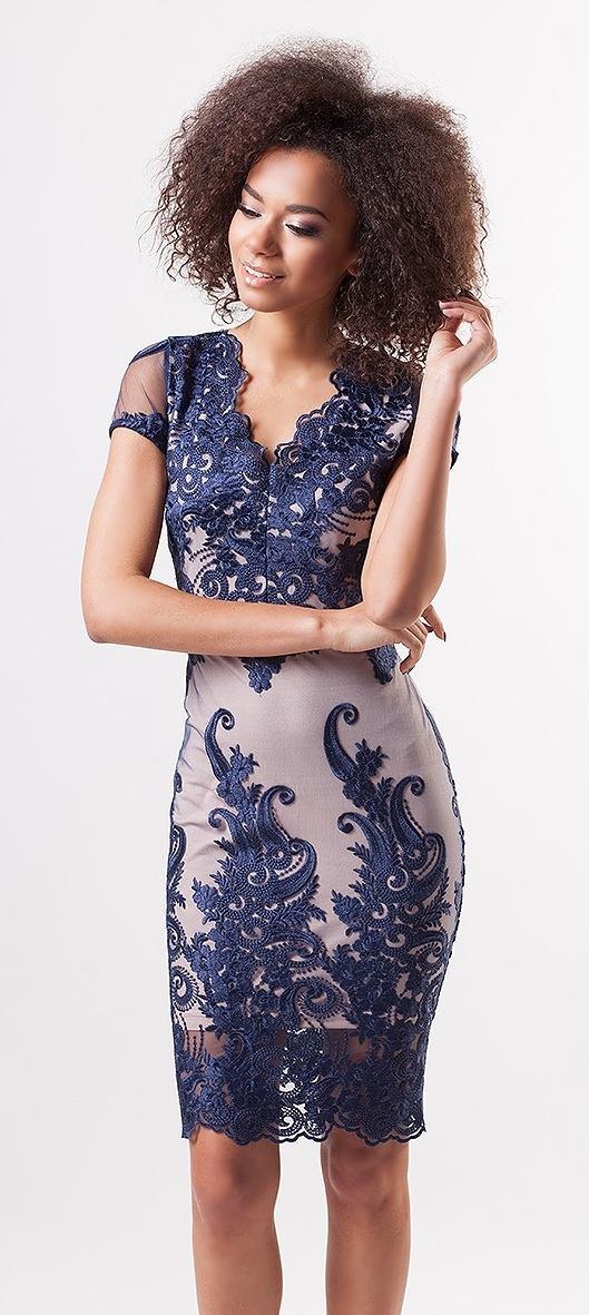 95db7903f089 Pouzdrové šaty Lace