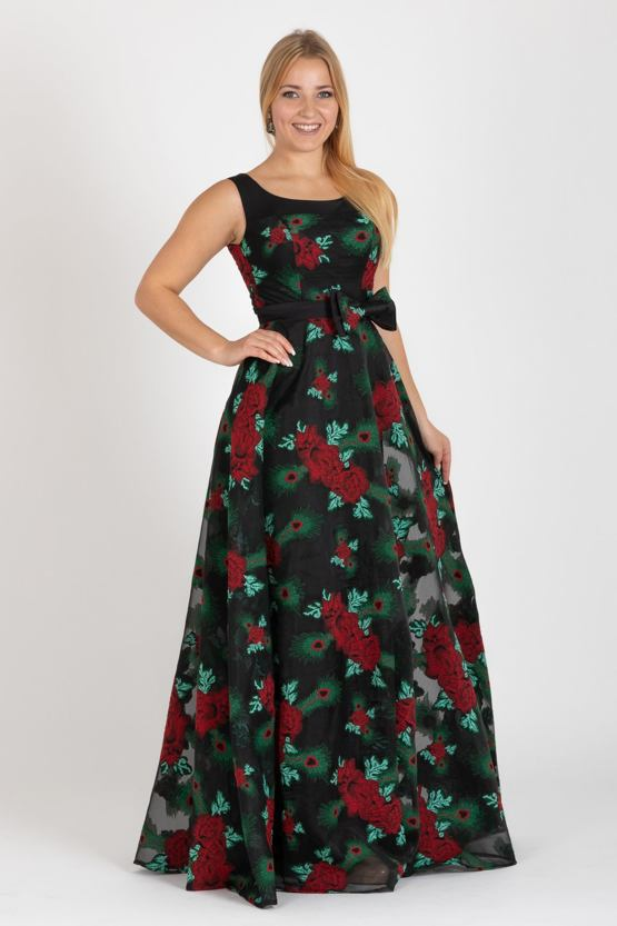 Společenské šaty Xenie, černé