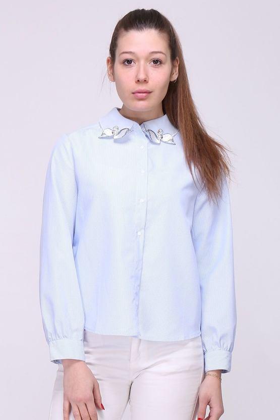 Košile Labutě, modrá