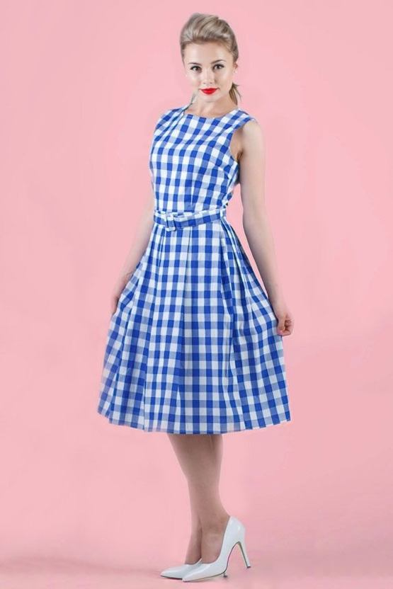 ebeed839a693 LindyBop retro šaty Colette