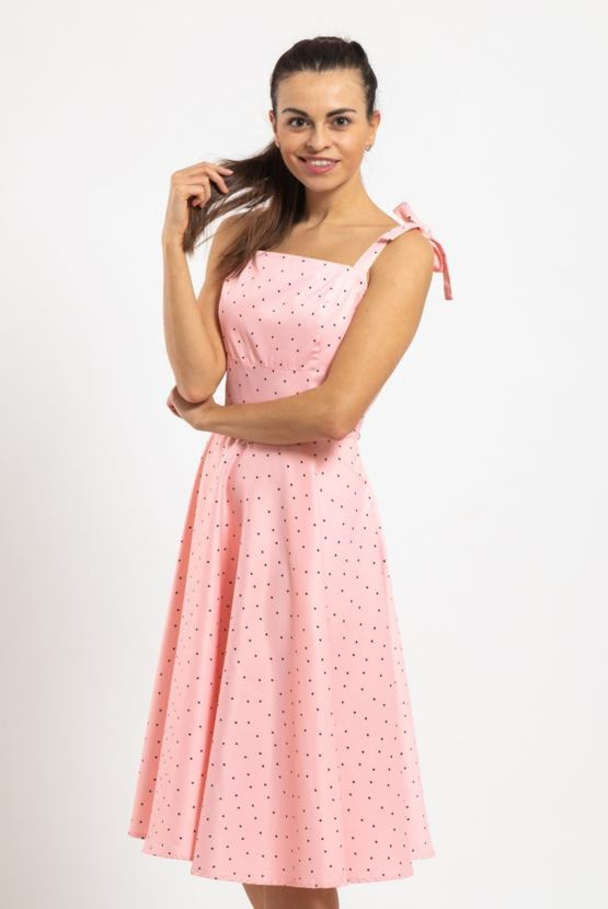 Šaty Cukrkandl, růžové