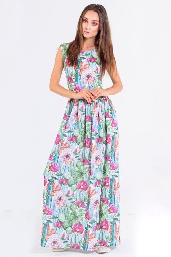 57324348540f Maxi šaty Cactus Bloom