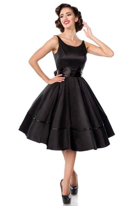 Šaty Madonna, černé
