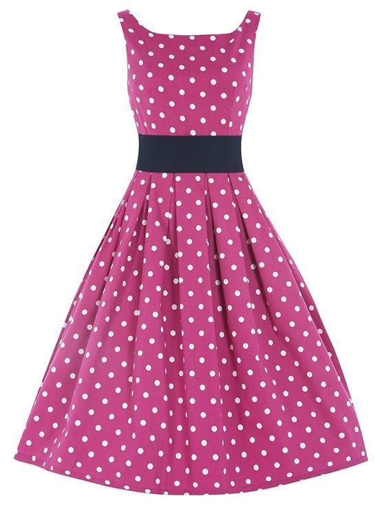 a0946d08a383 LindyBop retro šaty Lana