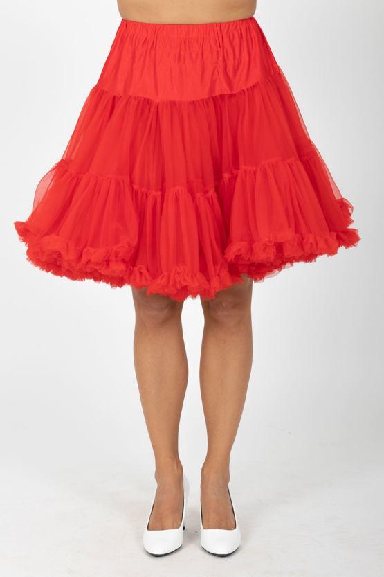 Banned spodnička pod šaty, červená