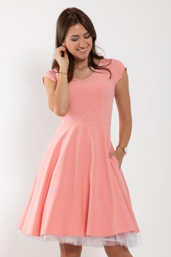 Šaty Muzikál, růžové