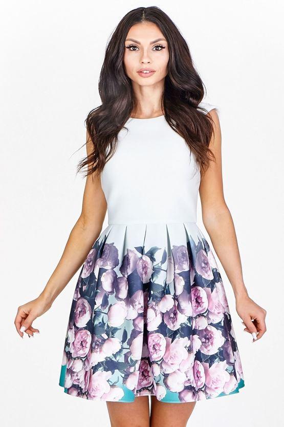 Šaty Miss Květinka, zelené