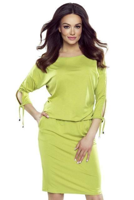 Šaty Kolibřík, zelené