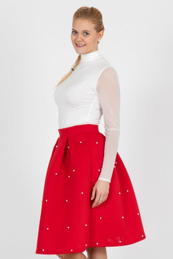 Sukně Abrakadabra, červená