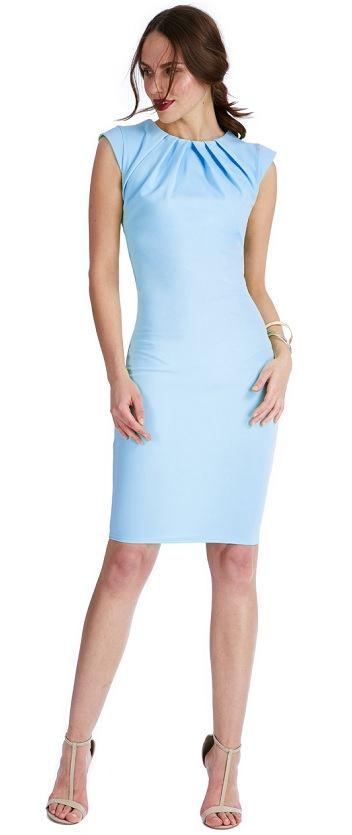 22a93ce63a78 Pouzdrové šaty Karamelka