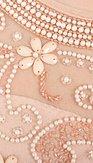 Společenské šaty Nikal, meruňkové