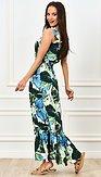 Maxi šaty Fata Morgána, zelené