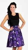 Šaty Krokus, fialové