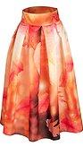 Midi sukně Zamilované listoví