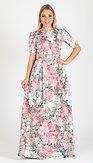 Maxi šaty Vlada, růžové