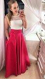 Maxi sukně Sissi, magentová