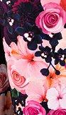 Šaty Květuška, černé
