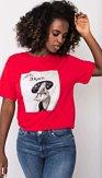 Tričko Lady Original, červené