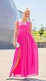 Společenské šaty Blondie, růžové
