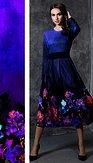 Šaty Magnificenta, modré
