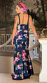 Ever-Pretty plesové šaty Anastázie, modré
