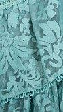 Krajková sukně Mercedes, mintová